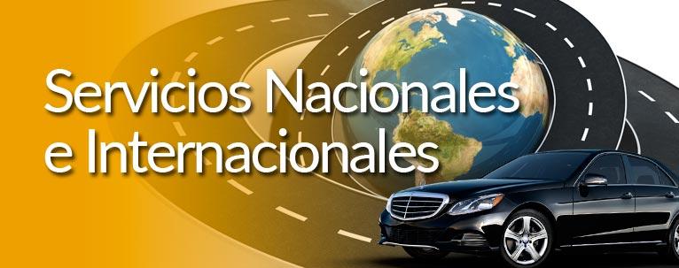 Servicios Nacionales e Internacionales